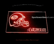San Francisco 49ers Electric Light