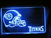 Tennessee Titans Electric Light - Ships Free