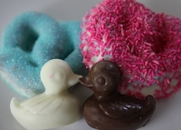 Baby Duckie Chocolate Dipped Pretzel Favors