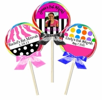 Bat Mitzvah Lollipop Favors