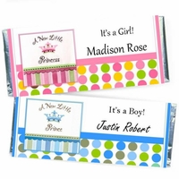 Birth Announcement Candy Bars