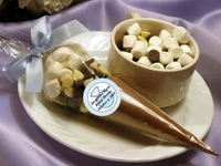 Bridal Shower Hot Cocoa Favors