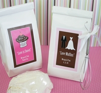 Bridal Shower Muffin Mix Favors