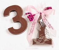 Chocolate Number Favors