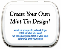 Custom Personalized Mint Tins