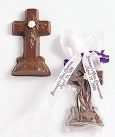 Decorated Chocolate Cross