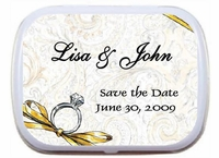 Engagement Personalized Mint Tins