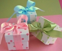 First Birthday Favor Boxes