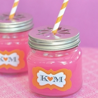 Mason Jar Party Favors