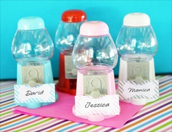 Mini Gumball Machine Favors