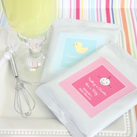 """Nothing is Sweeter than a Baby"" Personalized Lemonade + Heart Whisk"