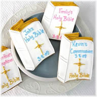 Personalized Bible Cookie Favors