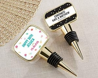 Personalized Bottle Stopper Favors