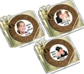 Personalized Chocolate CD Favors