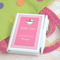 """Personalized """"Little Notes"""" Notebook Favors"""