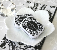 Damask Personalized Mint Tins