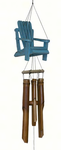 Adirondack Beach Chair  Bamboo Wind Chime