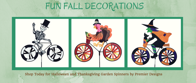 Premier Dsign Garden Spinners - Fall  Lawn Decorations