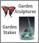 Made in the US - Garden Stakes - Garden Sculptures