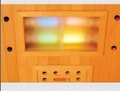 Corner Infrared Sauna 3 Person