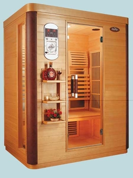 Deluxe Infrared Sauna 3 Person