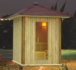 Traditional Outdoor Sauna