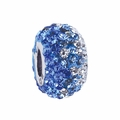 Blue Crystal Fade Bead School Color Bead