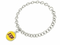 East Carolina Pirates Silver Bracelet