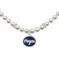 Georgetown Hoyas White Pearl Necklace