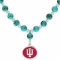 Indiana Hoosiers Turquoise Necklace