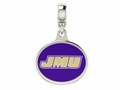 James Madison Dukes Drop Charm