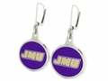 James Madison Dukes Silver Earrings