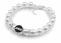 James Madison JMU Pearl Bracelet