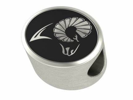 Virginia Commonwealth Rams Silver Bead