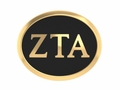 Zeta Tau Alpha 14kt Gold Sorority Bead
