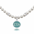 Zeta Tau Alpha Pearl Necklace