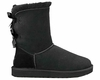 UGG AUSTRALIA BAILEY BOW BOOTS - BLACK