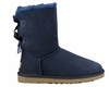 UGG AUSTRALIA BAILEY BOW BOOTS - BLUE