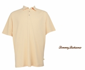Apricot Cream Superfecta Stripe Polo by Tommy Bahama