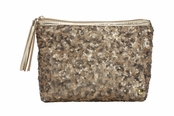 Beverly Hills Gold Collection Alex Sparkle Cosmetic Case by Stephanie Johnson