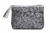 Beverly Hills Silver Collection Alex Sparkle Cosmetic Case by Stephanie Johnson