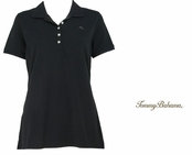 Black New Paradise Polo by Tommy Bahama
