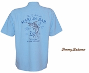 Blue Fin Distillery Signature Silk Camp Shirt by Tommy Bahama