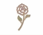 CAROLEE Blossoming Rose Pin