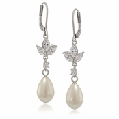CAROLEE The Looking Crystal Flourette Earrings