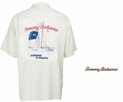Continental Downwind to Paradise Signature Silk Camp Shirt by Tommy Bahama