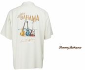 Continental Sound Waves Signature  Silk Camp Shirt by Tommy Bahama