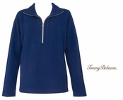 Deep Space Aruba Half Zip Sweatshirt by Tommy Bahama