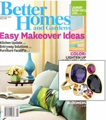 As Seen In Better Homes and Gardens! Glam Noir Fashionista Ring
