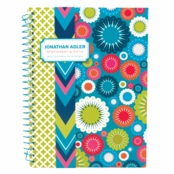 Jonathan Adler Mini Notedbook Mod Floral